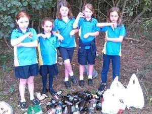 Clean-up leaves girl guides horrified at what they find