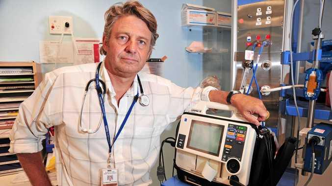 Sunshine Coast Hospital and Health Service senior staff specialist in emergency medicine Dr Stephen Priestley.