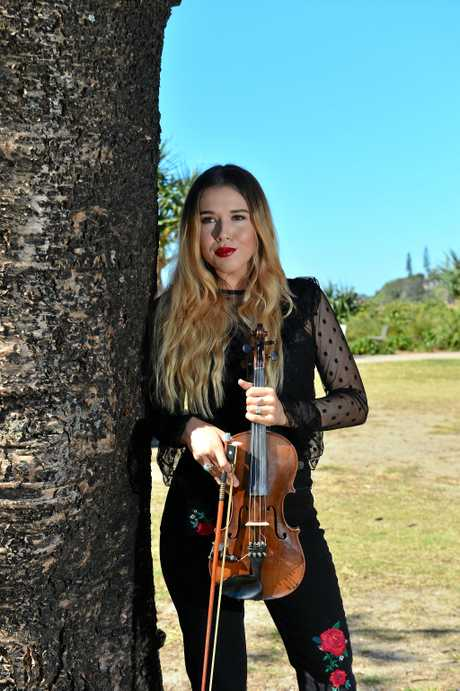 Emma Beau will perform at the Gympie Muster next weekend.