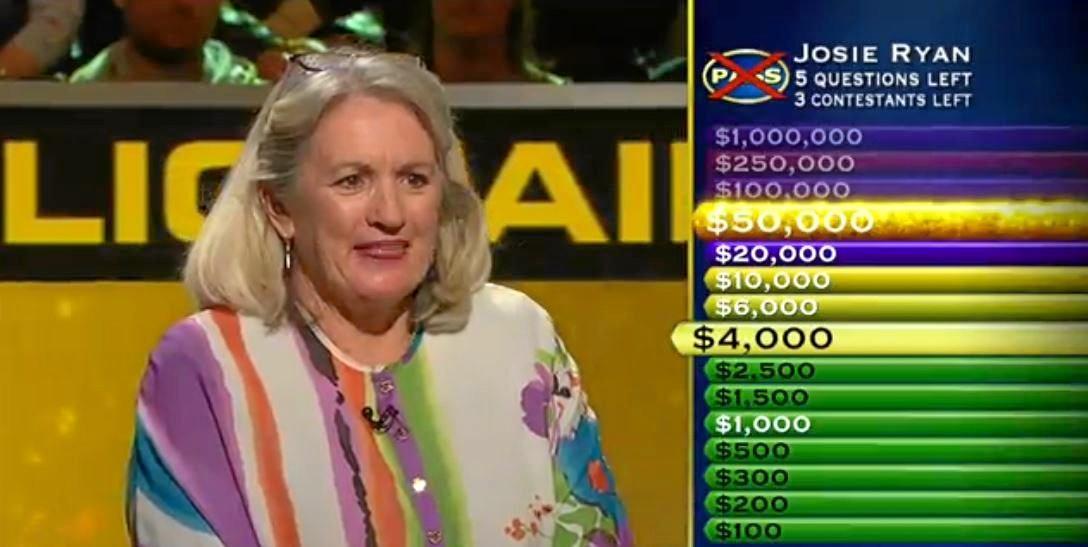 STAR: Alexandra Headland golfer Josie Ryan was close to cashing in on Nine's Millionaire Hot Seat.