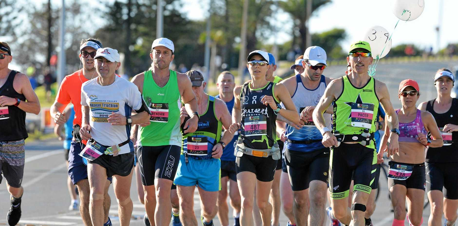 Ashley Robinson is full of praise for the people who made the the Sunshine Coast Marathon a reality ... and those who run in it.