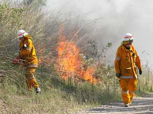 Bushfire season 'makes itself known' in Central Queensland
