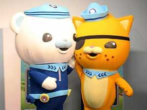 Octonauts host twilight beach clean-up on the Coast