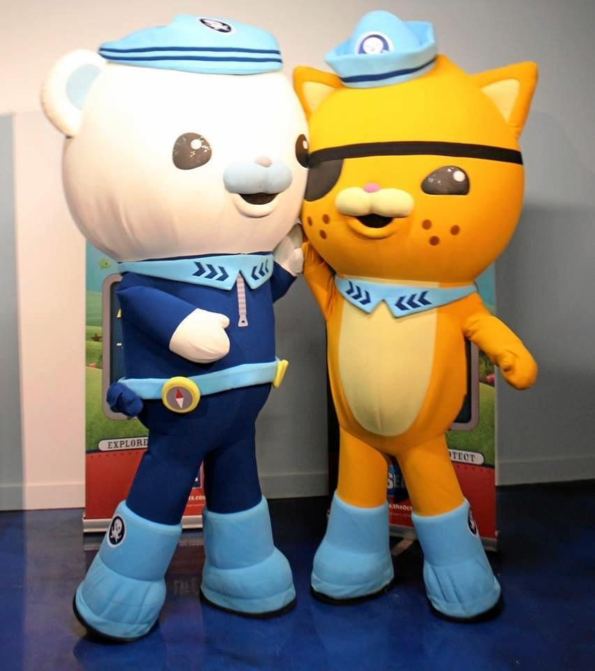 The Octonauts are coming to the Coast for a one night only event.