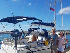 Lucky escape for yacht heading to Hamilton Island