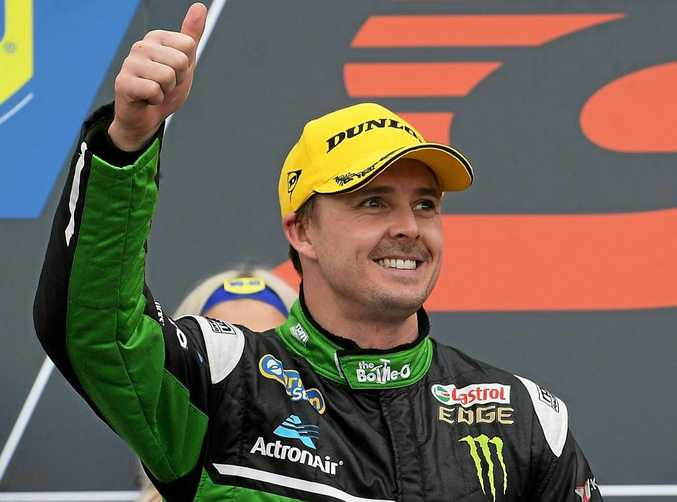 Mark Winterbottom after his second-place finish at Phillip Island in April.