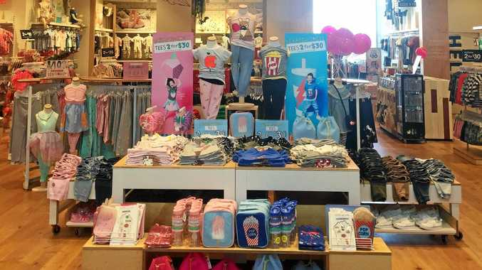 CHILDREN'S FASHION: Cotton On Kids opened at Grand Central Shopping Centre.