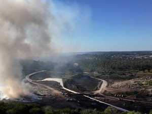 DUMP FIRE: No investigation into potentially toxic smoke