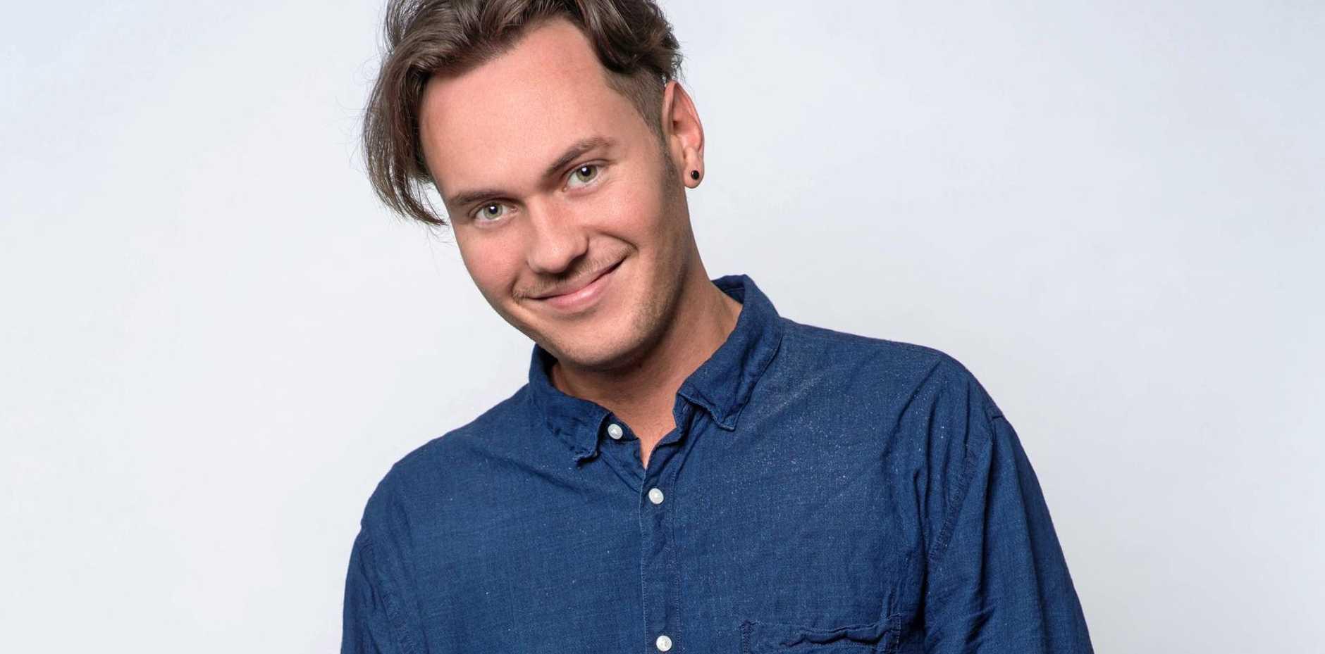 YOUNG: Australian comedian and Youtube star Josh Wade.