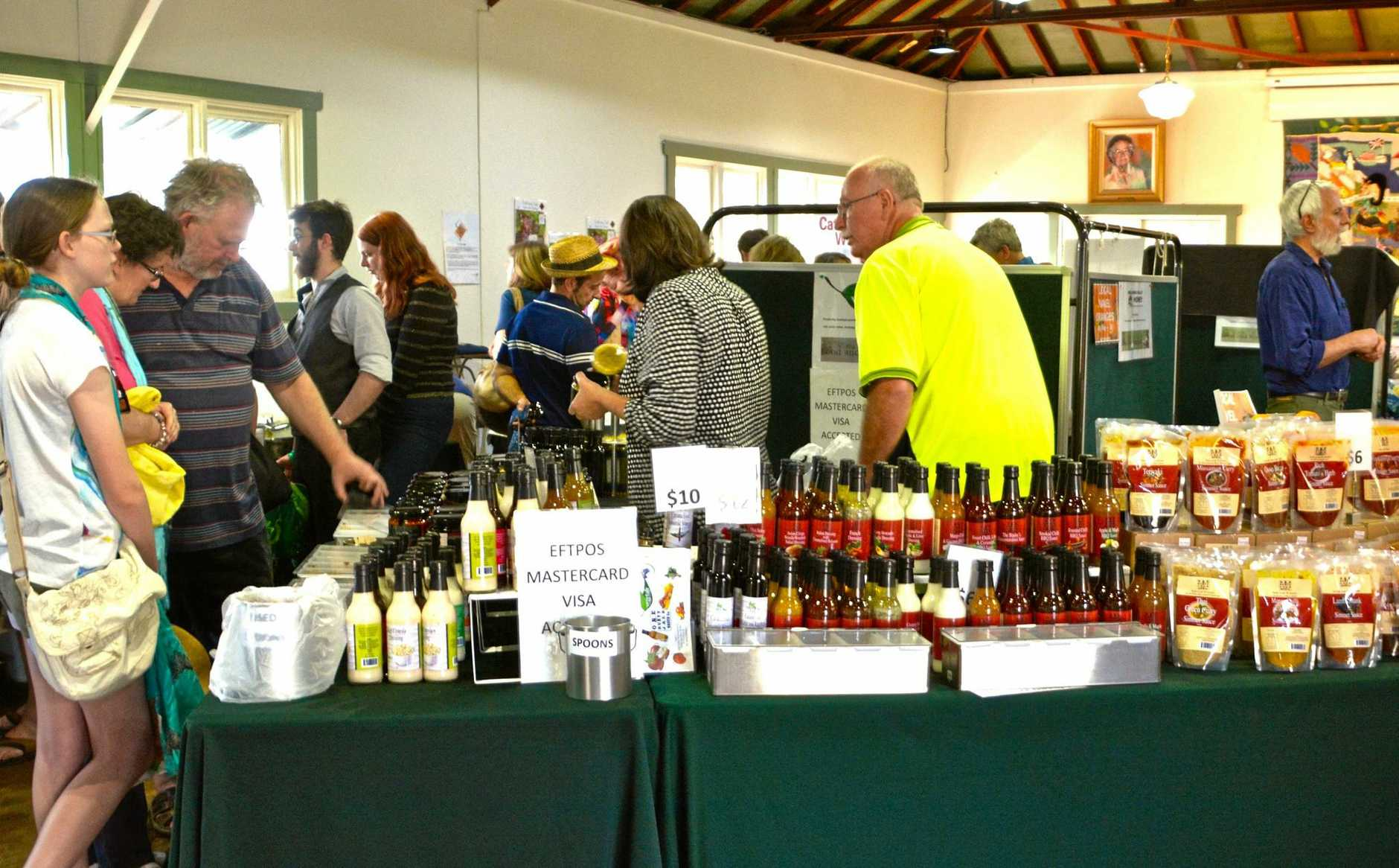 LOCAL TASTES: Each year 14 local producers are invited to show their gourmet wares at the Pearl Beach Food and Wine Fare.