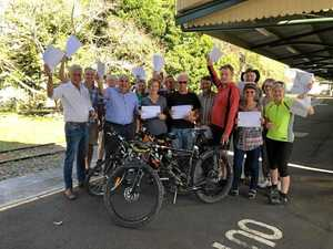 Petition to get crucial funding for rail trail