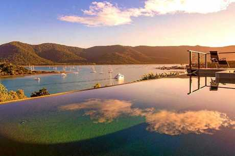 The Point Whitsundays the Best View In the World, located in Shute Harbor, QLD Whitsundays Region.