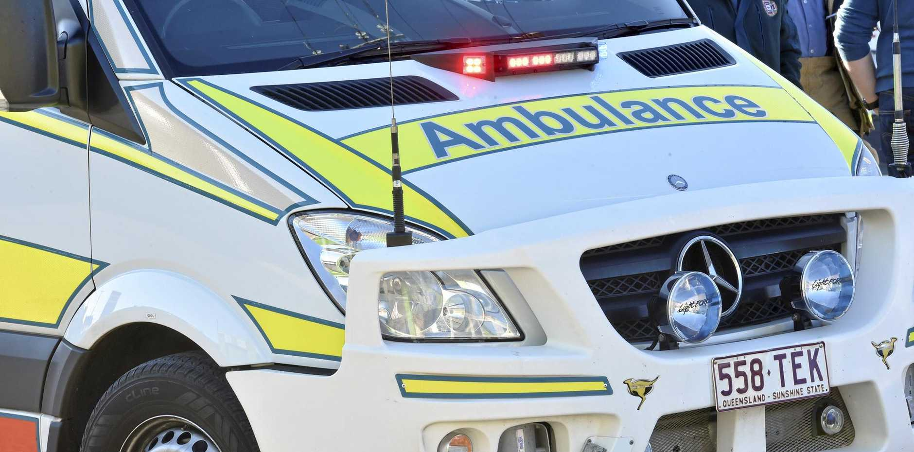 An ambulance was called to Sugar Hair in Rural View and a woman was taken to hospital.