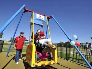 INCLUSION: Clarence Valley plans to have liberty swings similar to the Variety Liberty Swing in South Lismore.