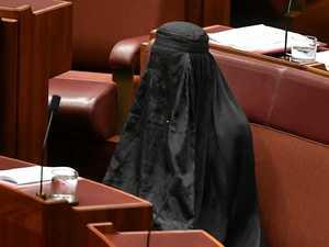 BURQA STUNT: Pauline is 'entitled' to Islam stance