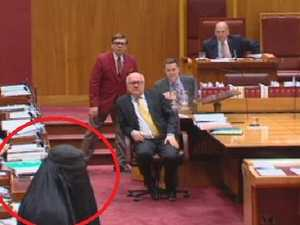Hanson's speech: Ban the Burqa