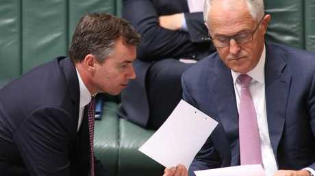 Prime Minister Malcolm Turnbull refused to clarify Michael Keenan's citizenship status. Picture: Gary RamageSource:News Corp Australia