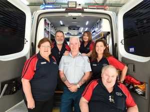 Hervey Bay Local Ambulance Committee - acting clinical support officer Paul Fitzpatrick with (L) Merryn Napier, president Ian Farrell, Barb Lewy's-Davies, Jo-Anne Farrell and Adrian Doyle - look forward to hosting the LAC State Conference this month.