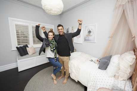 Georgia and Ronni are on a roll, winning their second straight bedroom reveal.
