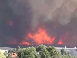 Massive fireballs erupt- Video: West Wide Productions