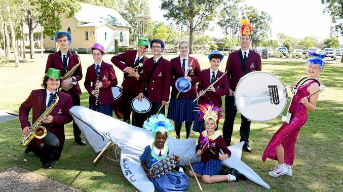 OCEAN FESTIVAL: Fraser Coast Anglican College students hope to continue their winning streak with their samba band and carnivale float, at the Whale Parade.