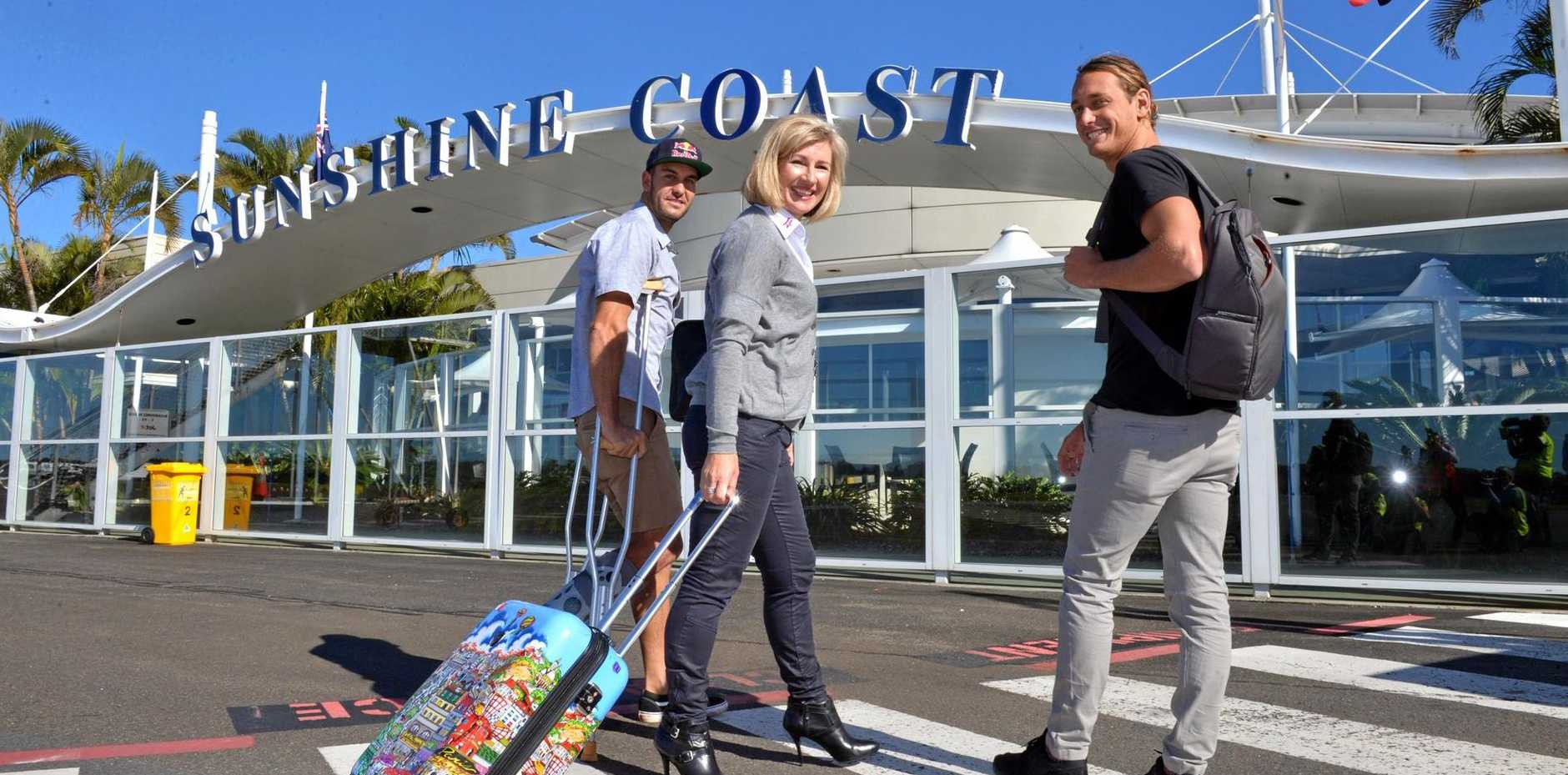 PACK YOUR BAGS: Fresh flights are on offer over the festive season for the Sunshine Coast.