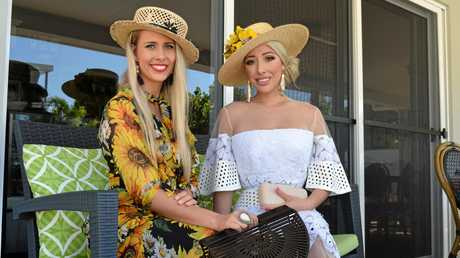 FASHION GURUS: Stacie Galeano and Milano Imai, this year's Fashion in the Sands judges for the Mackay Airport Beach Races.