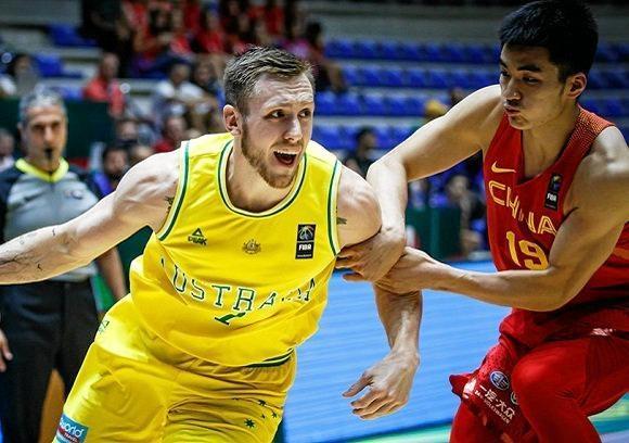 Australia was too good for the Chinese. Photo: FIBA