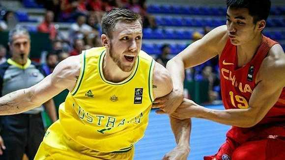 Australia was too good for the Chinese. Photo: FIBA