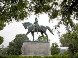 Trump mourns statues the South's hero opposed