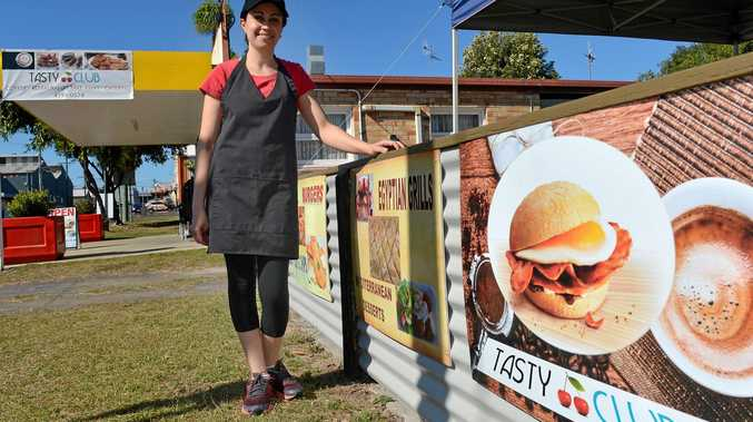 TASTY CLUB: Viola Rezk is putting her cafe business on the market in Bundaberg.
