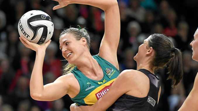 NEW SKIPPER: Catlin Bassett has been named the captain of the Australian team.