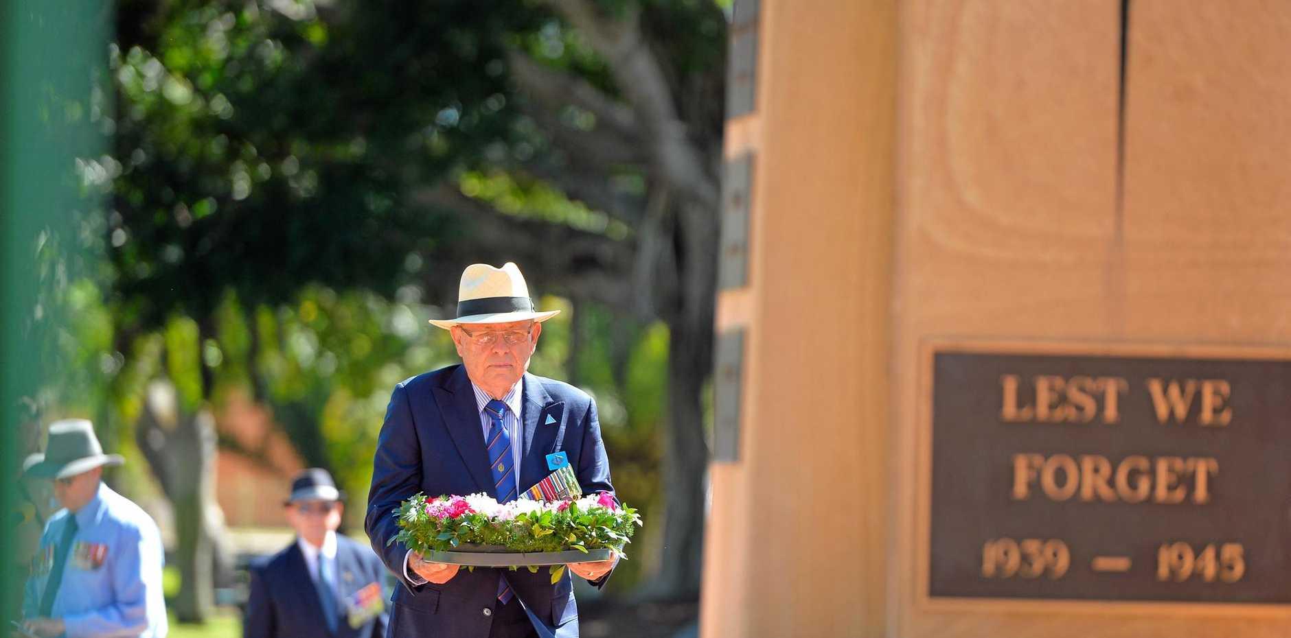 LEST WE FORGET: Vietnam Veterans Day - Anzac Park, Gladstone - August 18, 2017.