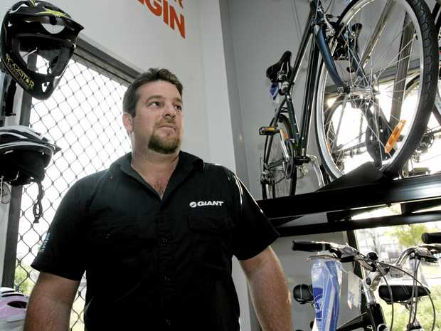 Fraud Troy Dale Mogg stole $208,000 over two years from his employer Corry Cycles.