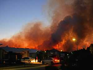 Massive blaze burns Coast