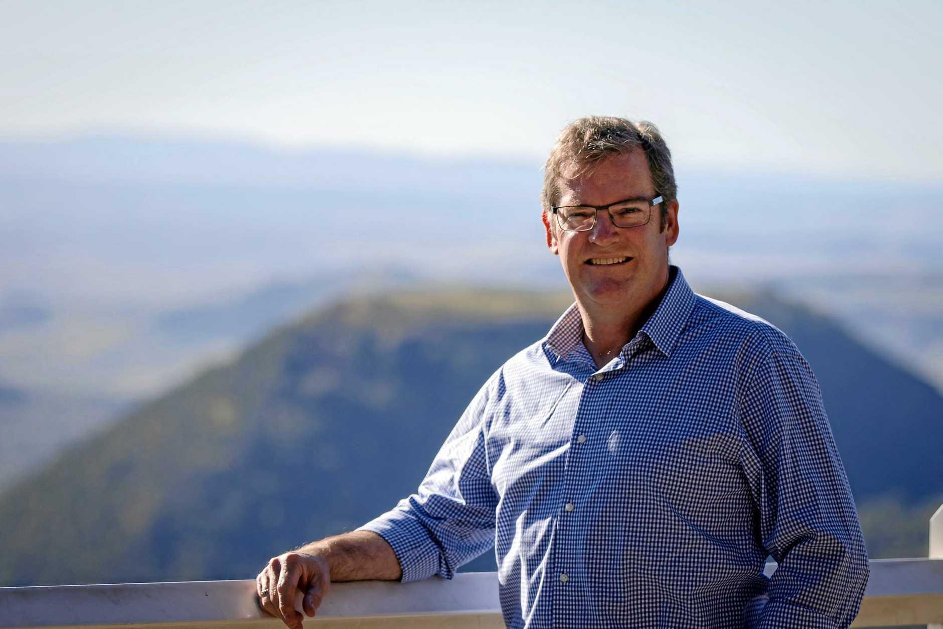 Federal Member for Groom, John McVeigh.