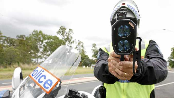 A 19-year-old man has copped a big fine after being clocked 80km over the speed limit at Coles Creek.