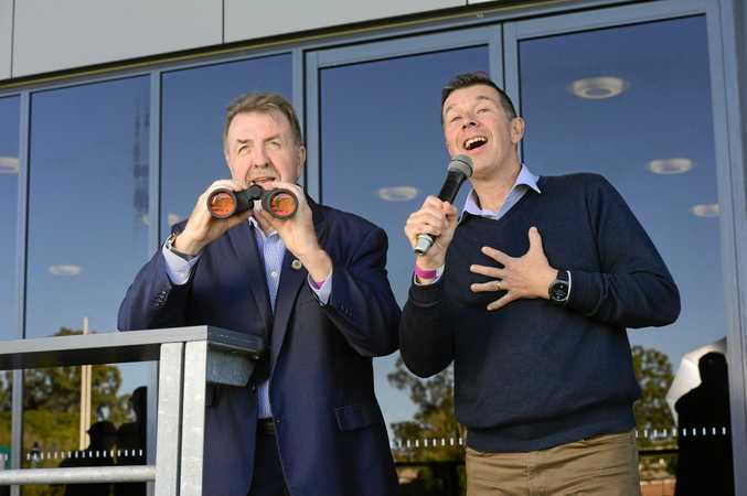 Cr Paul Tully and Cr Andrew Antoniolli led the way in the Galaxy poll commissioned by the QT.