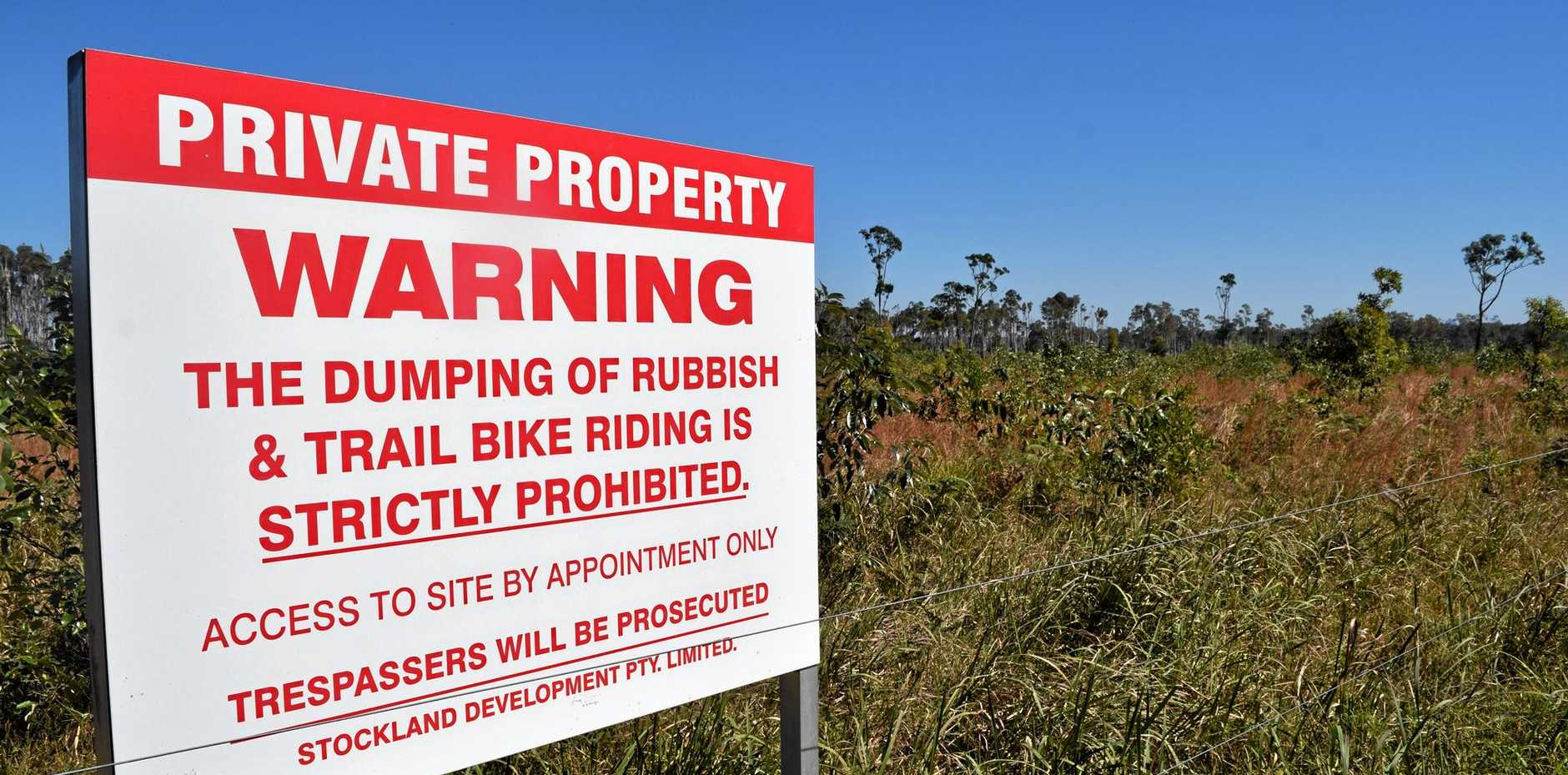 WAITING GAME: Development company Stockland owns 1260 hectares of land at Halls Creek.