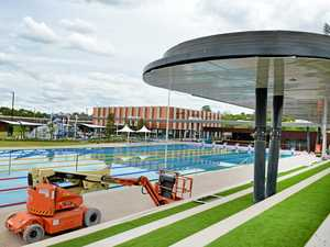 Wondering what the work is at the aquatic centre?