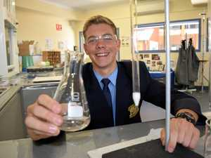 St Mary's College student claims prestigious science award