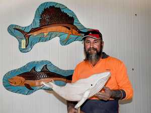 Bay man carves new life with craft that saved him