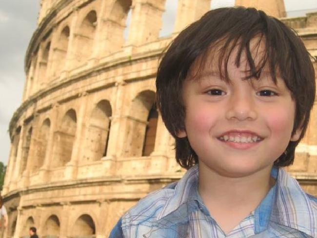 Julian Cadman, 7, who is missing in Barcelona after the attack. Picture: Facebook