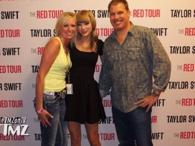 The photo in question picturing DJ David Mueller grabbing Taylor Swift's behind. Picture: TMZSource:Supplied