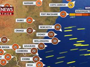 Wild winds and weather smash Australia