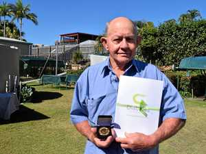 Gladstone man awarded for surviving 60 years of diabetes