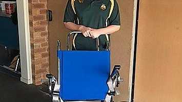 BEACH ACCESS: The new beach access wheelchair will go to the Moore Park Surf Club.