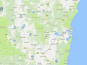 There are a number of fires burning in the Clarence Valley right now.