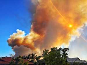 Caloundra South fire emergency August 18-19, 2017