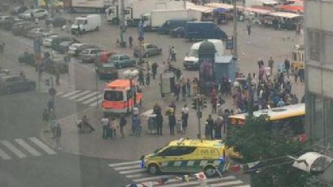 A number of people have been stabbed in Turku, Finland. Picture: Twitter